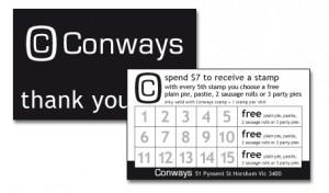 Conways Loyalty Card